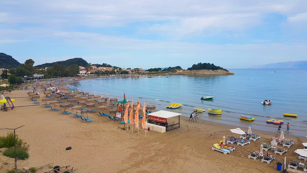 Sidari live webcam Corfu